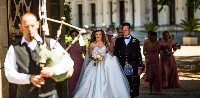 SCOTTISH WEDDING IN FRANCE: Cheryl&Chris (Wedding clip)